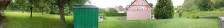 Maehroboter-komplexer-Garten