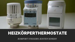 elektrisches Heizungsthermostat