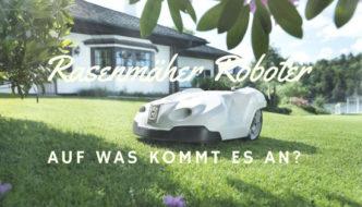 Rasenmäher Roboter Kriterien