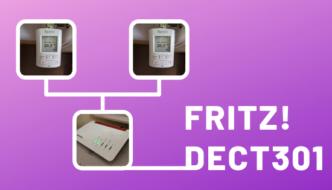 FRITZ!DECT 301 Heizkörper Thermostat
